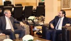 الحريري استقبل السفير البريطاني في لبنان كريس رامبلنغ