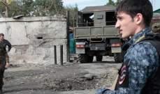 مقتل مسلح أطلق النار على أفراد من شرطة داغستان أثناء عملية أمنية
