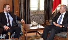 بري يتلقى دعوة من السفير العراقي لزيارة العراق