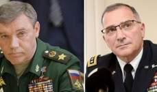 رئيس الأركان الروسي يلتقي قائد قوات الناتو غدا في العاصمة الأذربيجانية باكو