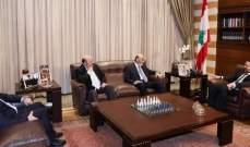 الحريري التقى جعجع وعرض معه الاوضاع العامة