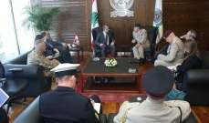 بو صعب بحث مع رئيس هيئة أركان الدفاع البريطانية سبل إعادة هيكلة الجيش وتطويره وتحديثه