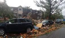"""رئيس بلدية أوتاوا يصف بعض الاحياء بـ""""منطقة حرب"""" بعد الاعصار الأخير"""