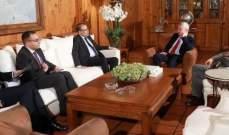 النجاري التقى فرنجية: مهتمون كثيرا بتشكيل الحكومة ونحرص على عدم التدخل بشأن لبنان