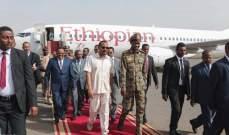 رئيس الوزراء الإثيوبي يجتمع للمرة الثانية مع رئيس المجلس الانتقالي السوداني