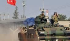 الاناضول: إصابة 4 جنود أتراك باشتباكات مع مسلحين شرقي تركيا
