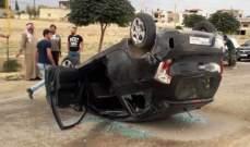 النشرة: إصابة شخص في النبي رشادة جراء إطلاق نار على سيارته وانقلابها