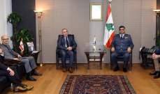 عثمان استقبل مدير الأمن الدبلوماسي بوزارة الخارجية الفرنسية وسفير تركيا