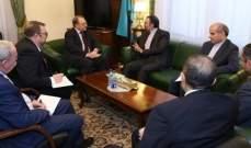 سفير إيران لدى موسكو بحث مع بوغدانوف بالوضع في سوريا واليمن ولبنان