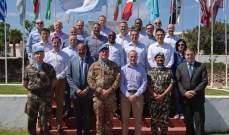 وفد دولي من 15 ضابطًا من الكلية الملكية البريطانية للدراسات زار لبنان