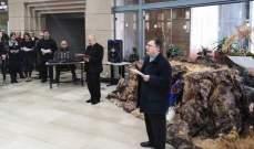 جامعة الحكمة رفعت صلوات ميلادية برئاسة شلفون