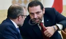 الحريري وباسيل مَحكومان بحلّ خلافاتهما