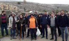 """مسيرة تحت عنوان """"المحاسبة بلّشت..."""" ضد المعامل الملوثة لنهر الليطاني"""