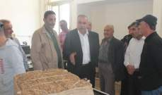 الريجي باشرت شراء محاصيل التبغ من مزارعي قضاء النبطية