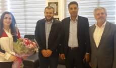 وفد من حزب الله زار رؤساء المصالح والدوائر الرسمية في صيدا مهنئا بالفطر