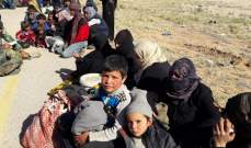 النشرة: عودة دفعة جديدة من الاهالي في مخيم الركبان عبر ممر جليغم