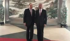 سفيرا روسيا والصين بأميركا ناقشا مجموعة قضايا على جدول الأعمال الثنائي