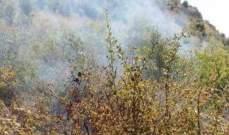 اخماد حريق في خراج بلدة دده الكورة