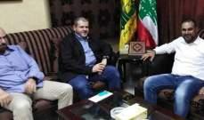 مسؤول حزب الله بصيدا التقى المنسق الجديد للتيار الوطني بقضاء الزهراني