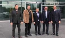 الوفد النيابي اختتم زيارته الرسمية الى المانيا