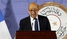 رئيس مجلس النواب الليبي بحث ووزير خارجية فرنسا في مستجدات الأزمة الليبية