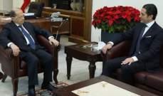 الرئيس عون استقبل سفيري لبنان في عمان وفي الإمارات