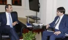 أفيوني عرض ورئيس بعثة صندوق النقد الدولي سبل تفعيل إقتصاد المعرفة