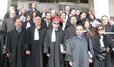 اعتصام لمحامي النبطية احتجاجا على النقص بعدد القضاة بمحاكم المنطقة