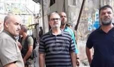 اعتصام لاهالي مخيم المية ومية للمطالبة بإخراج عناصر انصار الله من المخيم