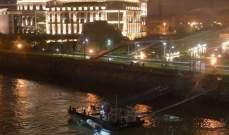 مقتل 7 كوريين جنوبيين وفقدان 19 آخرين بغرق مركب سياحي بالدانوب