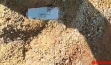 النشرة: العثور على جهاز اسرائيلي في زوطر الشرقية