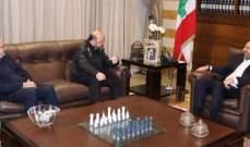 الحريري التقى الرياشي بحضور خوري وجرى عرض للمستجدات السياسية والأوضاع العامة