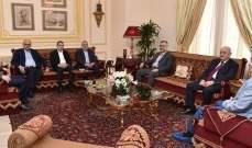 """لقاء عين التينة: حزب الله والاشتراكي على مواقفهما وشكوى من تفلت """"التواصل الاجتماعي"""""""