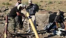 """سبوتنيك: """"النصرة"""" تستخدم سيارة إسعاف تابعة للخوذ البيضاء لنقل حاويات الكلور"""