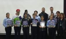 مكسيم شعيا زار بيت مار شربل في حريصا والتقى رئيس الدير وأولاد المدرسة