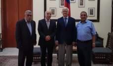 وفد الجبهة الديمقراطية التقى زاسبكين:لمعاقبة إسرائيل على جرائم الحرب