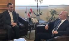 فنيانوس التقى فضل الله وبحثا شؤون واحتياجات منطقة بنت جبيل