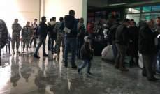 النشرة: 48 نازحا عادوا من ملعب صيدا الى سوريا
