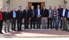 حسن مراد بحث مع رئيس رابطة مخاتير البقاع الغربي المشاكل التي تواجههم