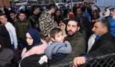 الحزب اللبناني الواعد يرسل دفعة خامسة من النازحين من كسروان الى سوريا