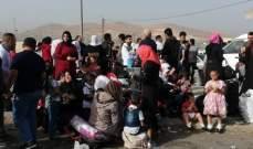 النشرة:انطلاق قافلات تضم نازحين سوريين من عرسال ومعبر المصنع