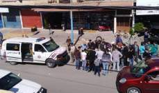 الدفاع المدني: جريح جراء اصطدام سيارة بدراجته النارية في المعشوق بصور
