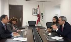 بطيش التقى السفير البريطاني وعرض معه العلاقات الثنائية