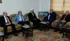 الشيخ أحمد قبلان التقى حمدان: لدراسة الموازنة دراسة معمّقة ورشيدة