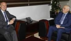جبق التقى السفير الجديد لفرسان مالطا