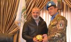قائد القطاع الغربي لليونيفيل زار بلدية بنت جبيل