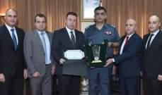 اللواء عثمان استقبل وفداً من قسم المباحث الجنائية العامة