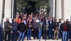وقفة احتجاجية لعمال بلدية طرابلس تضامنا مع القدس