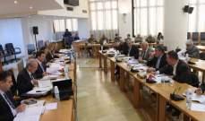 لجنة المال تقر موازنة وزارة التربية وتبدأ بمناقشة موازنة وزارة الدفاع