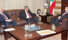 الحريري عرض مع رئيس الصندوق الكويتي للتنمية توقيع إتفاقيتي القرض والمنحة